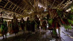 Two Young Woman go through 30 day dance to prepare for Scarification Ceremony