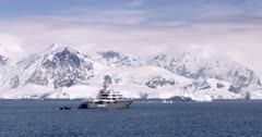 Superyacht 'Planet 9' in the Antarctic
