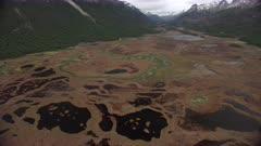 Alluvial Plain, Tierra del Fuego National Park, Isla Grande, Ushuaia, Argentina