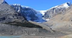 Athabasca Glacier in Jasper National Park 4K