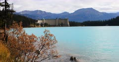 Lake Louise in Banff National Park, Alberta 4K