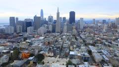 Timelapse of the San Francisco city center 4K