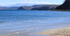 Beautiful beach scene in Costa Rica 4K