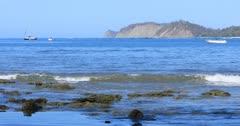 Tranquil coastline scene in Costa Rica 4K