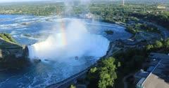 Aerial of Horseshoe Falls, Niagara Falls 4K
