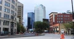 Street view in Winnipeg, Manitoba 4K