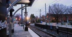 Rapid Transit in Charlotte, North Carolina 4K