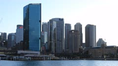 Looping day to night timelapse of Sydney, NSW, Australia 4K