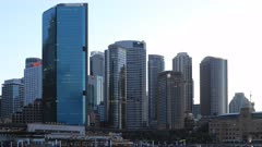 Looping day to night timelapse of Sydney, Australia 4K