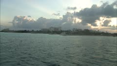 View from Dive Boat in Isla Mujeres, Mexico