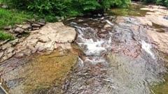 White water mountain stream