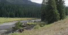 Soda Butte Creek without Beaver Lodge