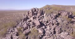 Petroglyphs at Three Rivers south of Carrizozo, New Mexico created between 900 and 1400 AD by Jornada Mogollon people