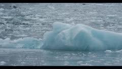 iceberg close near Hubbard Glacier