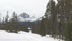 Sawtooth Mountain Region
