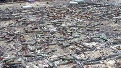 Abandoned World War II ammunition