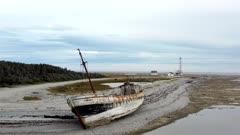 Wreck of the Calou, Anticosti Island, Quebec