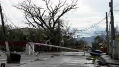Hurricane Aftermath Major Damage And Destruction