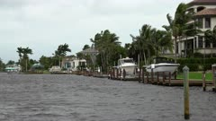 Hurricane Irma Wind Blows Over Marina Day Before Landfall