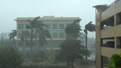 Hurricane Irma Wind And Rain Hit Naples Florida As Storm Nears