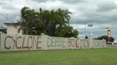 Message Of Defiance From Locals Prior To Cyclone Debbie