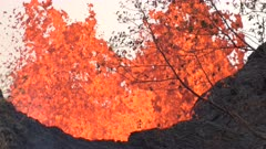 Kilauea Volcano Eruption 2018 - Lava Fountains Burst Into Air