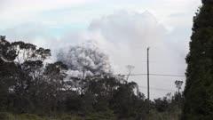 Kilauea Volcano Eruption 2018 - Volcanic Ash Blasts From Summit Crater
