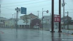 Wind And Rain Build As Hurricane Nears Landfall