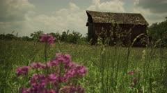 Old Barn in Midwest Prairie