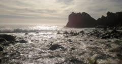 AERIAL, Central Coast California, Big Sur, COAST