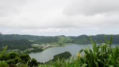 Lagoa Azul, Sete Cidades Caldera