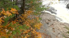 Perfect sneak peek at the Canadian Shield in fall with vegetation variety