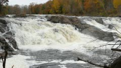 The great powerful waterfalls of fall are a sight worth traveling to Canada