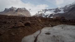The oldest glacier ice in the world uncovered from beneath the rocks of Beacon Valley in the Antarctic Dry Valleys