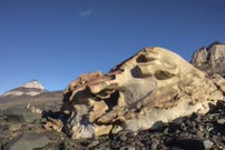 Time Lapse of sandstone ventrifact in Beacon Valley of Antarctic Dry Valleys
