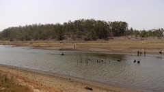 Waterway, Low water level, Drought,