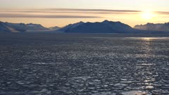 Sea Ice Formation, Pancake, McMurdo, Ross Sea, Antarctica