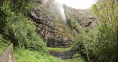 ST Helena Island Hart shape waterfall Jamestown