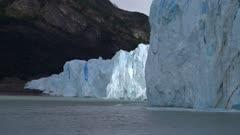 Perito Moreno Glacier from lake surface