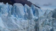 Perito Moreno Blue Glacial Ice