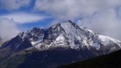 Torres del Paine Clouds Time Lapse