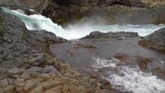 Small cascade below Godafoss Waterfall