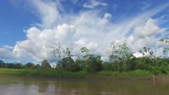 Moving down the Amazon
