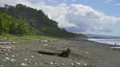 Waves breaking on Costa Rican Pacific shore