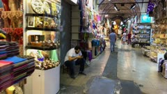Inside the Grand Bazaar in Istanbul