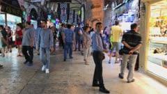 Inside the Grand Bazaar in Istanbul