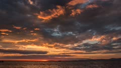 Time Lapse Sunset over theCosta Rican Pacific