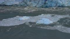 Perito Moreno Glacier Floating Iceberg in Argentine Patagonia