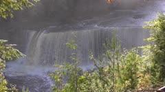 Upper Tahquamenon Falls in Michigan upper peninsula.