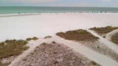 White Sands along Lido Beach near Sarasota Florida